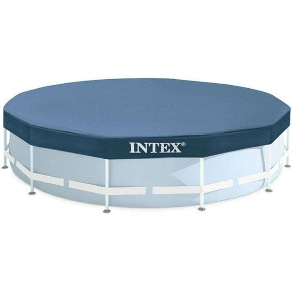 Spar King-Intex 28030 Round Pool Cover Poolabdeckplane Ø 305 cm Metal Prism Frame Pool