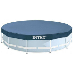 Spar King-Intex 28031 Pool Cover Poolabdeckplane Rund 366 cm Für Metal Prism Frame Pool