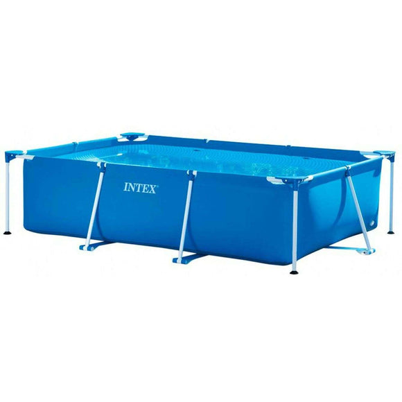 Spar King-Intex 28272 Rectangular Frame Pool Aufstellpool Garten 300 x 200 x 75 cm