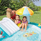 Spar King-Intex 57129 - Kinderpool Planschbecken Playcenter Alligator Krokodil Rutsche
