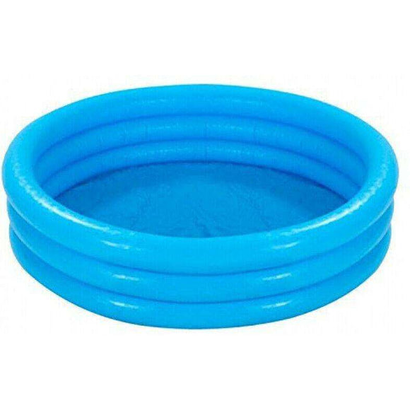 Spar King-Intex 58446 Crystal Blue Pool Kinderpool Planschbecken 481 Liter 168 x 38 cm