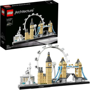 Spar King-LEGO 21034 Architecture London Skyline-Kollektion London Eye Big Ben Bauset