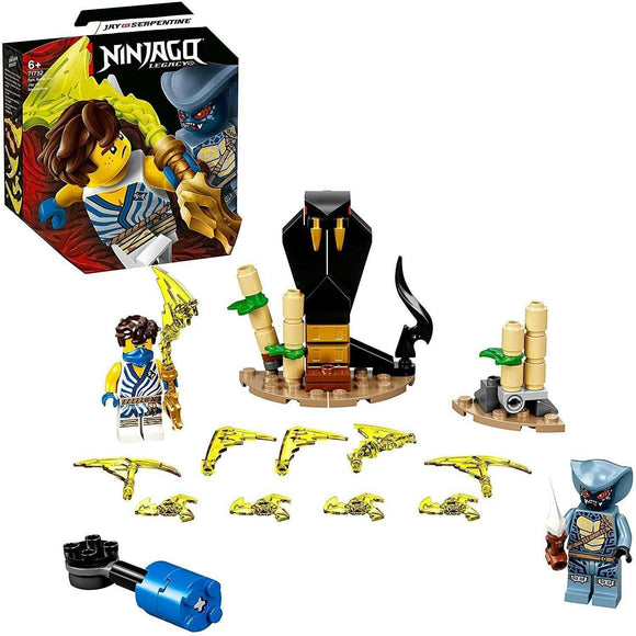 Spar King-LEGO 71732 NINJAGO Legacy Battle Set Jay vs. Serpentine 2 Minifiguren Spielset