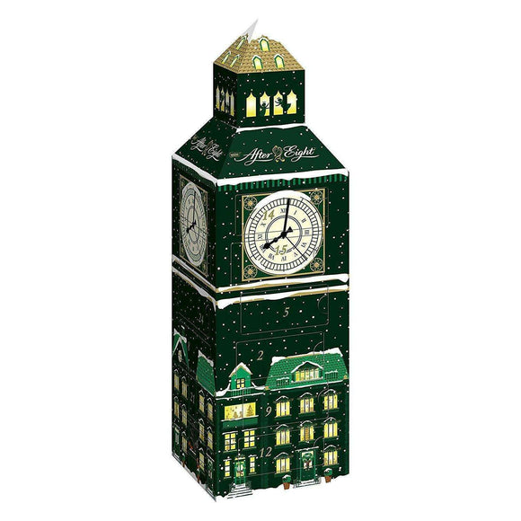 Spar King-Nestlé AFTER EIGHT Adventskalender Big Ben Weihnachtskalender Schokolade 185 g