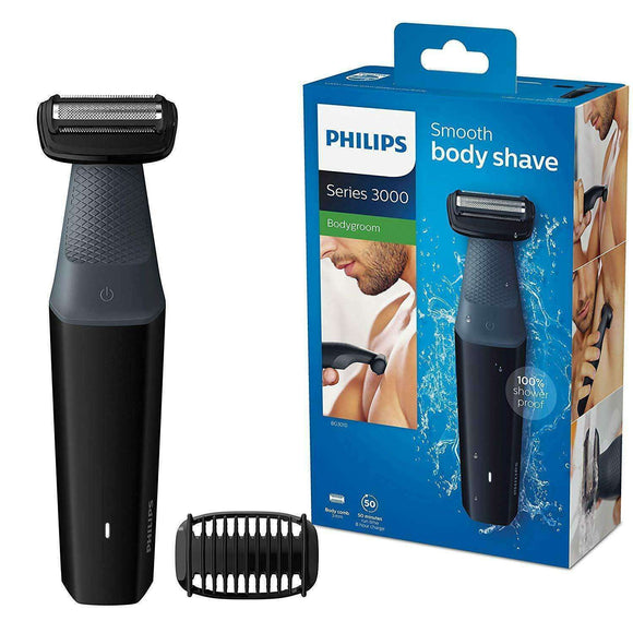 Spar King-Philips BG3010/15 Bodygroom Series 3000 Körperrasierer inkl. Trimmaufsatz