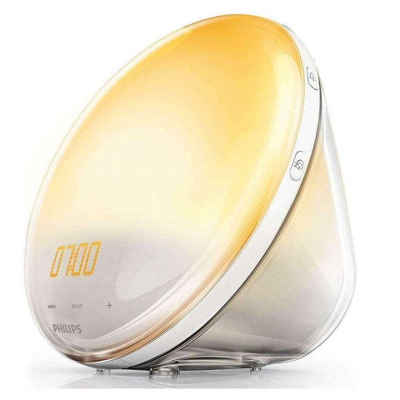 Spar King-Philips HF3531/01 Wake-Up Light Lichtwecker Sonnenaufgangs-Simulation FM Radio