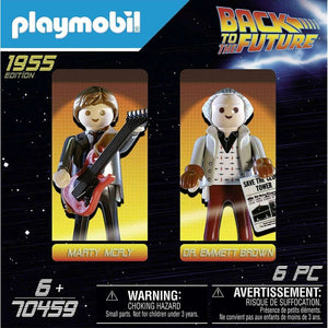 Spar King-Playmobil Back to the Future 70459 Marty Mcfly Dr. Emmett Brown Spielfiguren