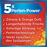 Spar King-Somat Deo Duo-Perls Zitrone Orange Geruchsneutralisierer Spülmaschine 8er Pack