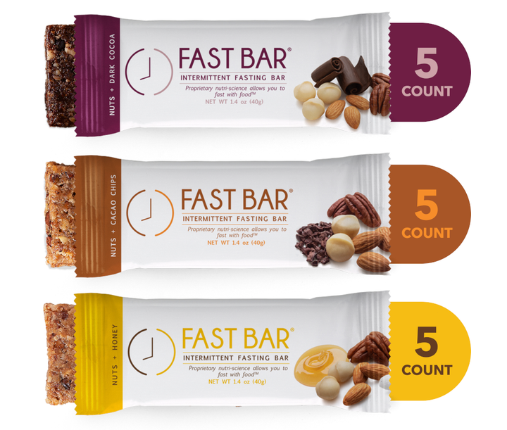 Free Gift Fast Bar® Variety 15 Count