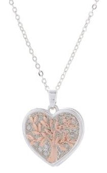 Equilibrium - Tree Of Life - Heart Necklace