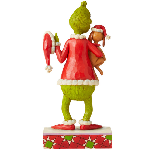 Dr. Seuss by Jim Shore - Grinch Holding Max