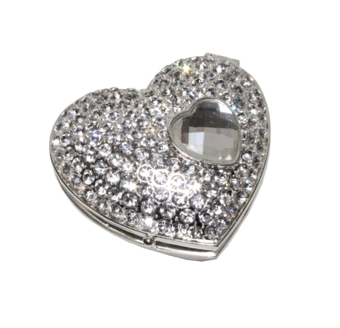 Bling Heart Trinket Box