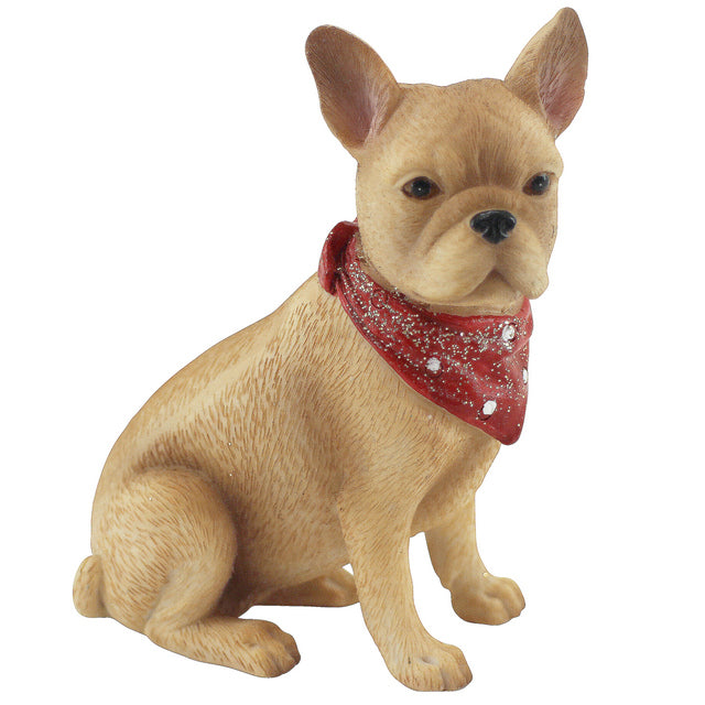 Frenchie Dog With Bandana