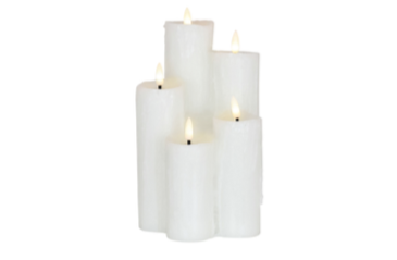 Heaven LED Wax Candle Set Of 5
