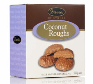 Davies Coconut Roughs - 200g
