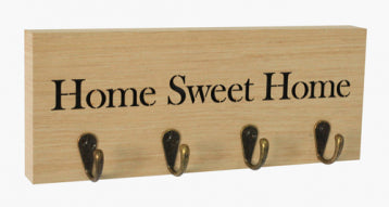 Woodcraft Key Hanger - Home Sweet Home