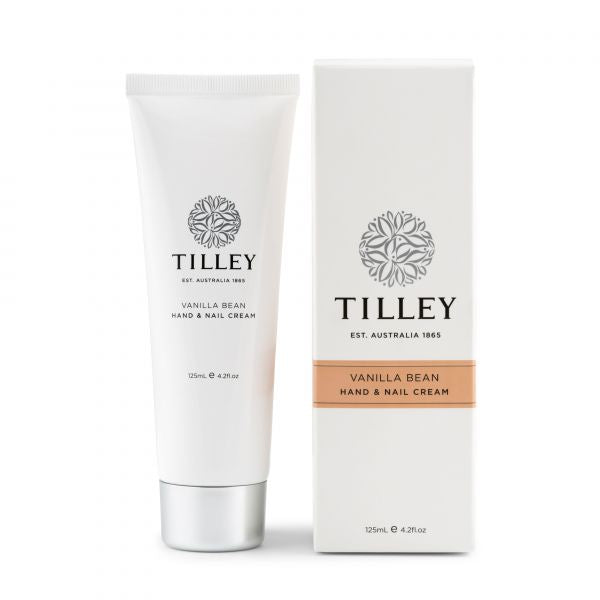 Tilley Vanilla Bean Hand & Nail Cream - 125ml