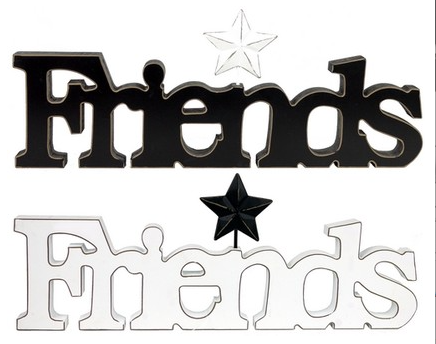 Friends Wooden Cutout