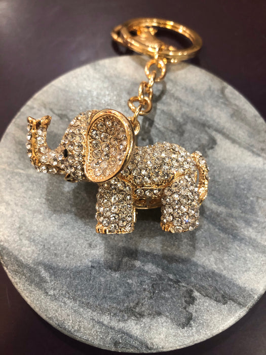 Bling Animal Keyring - Various