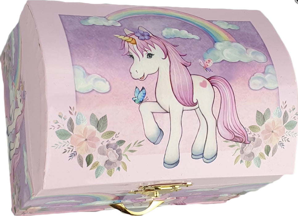 Musical Unicorn Rainbow Jewellery Box