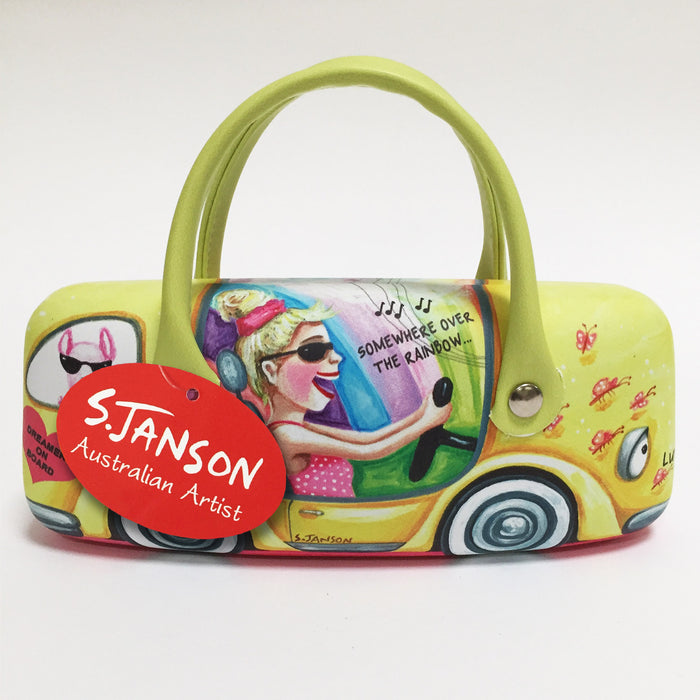Glasses Case 'Luv Bug' - By Sue Janson