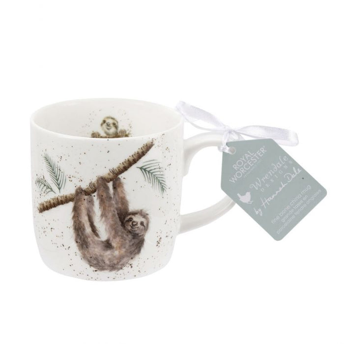 Wrendale Designs - Hanging Around (Sloth) Mug