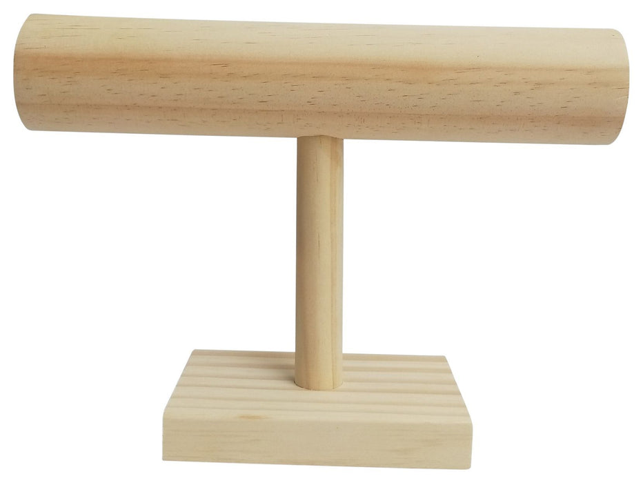 Wooden Bar Jewellery Stand