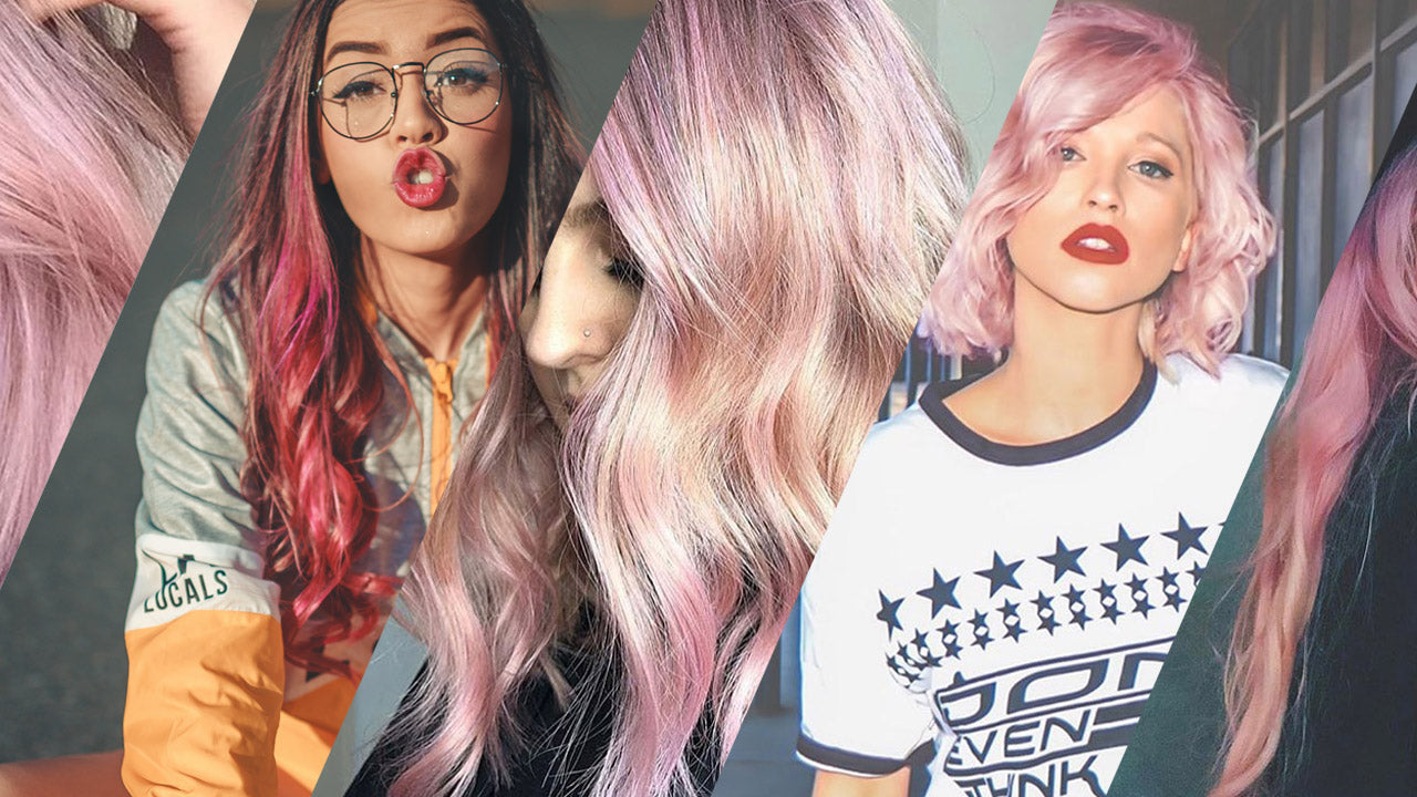 Your pink hair goals and how to achieve them