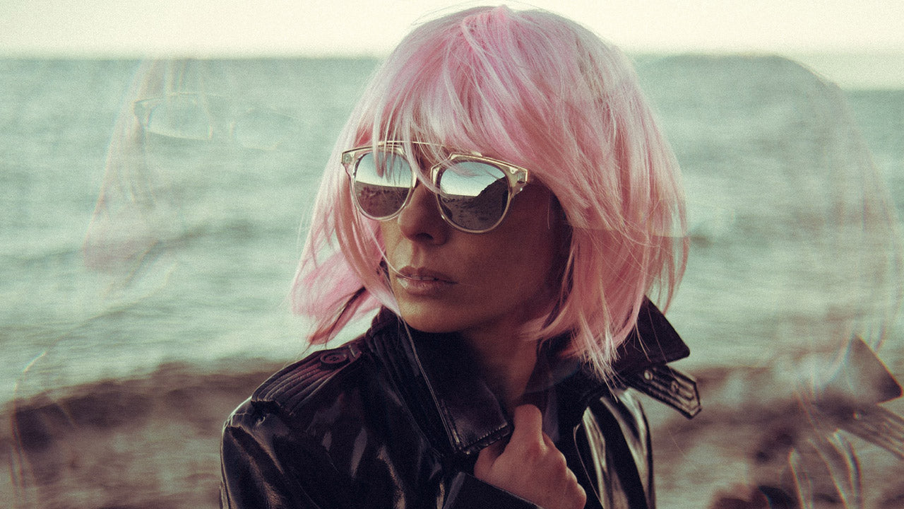 Pink hair trending for 2020 with MUVO Ultra Rose