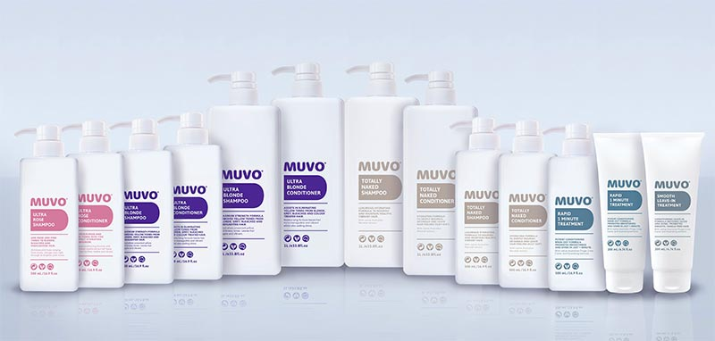 All MUVO Hair care products