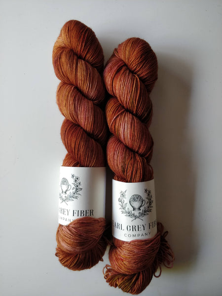 Rose Gold on Darjeeling Sock