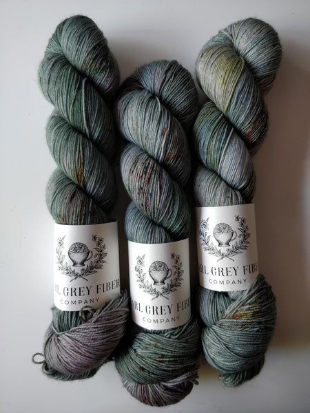 Autumn Skies on Darjeeling Sock