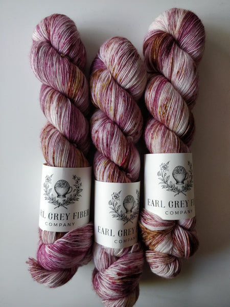 Rose Apothecary on Darjeeling Sock