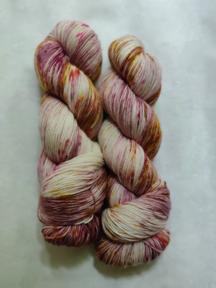 Rose Apothecary on Silver Needle Sock