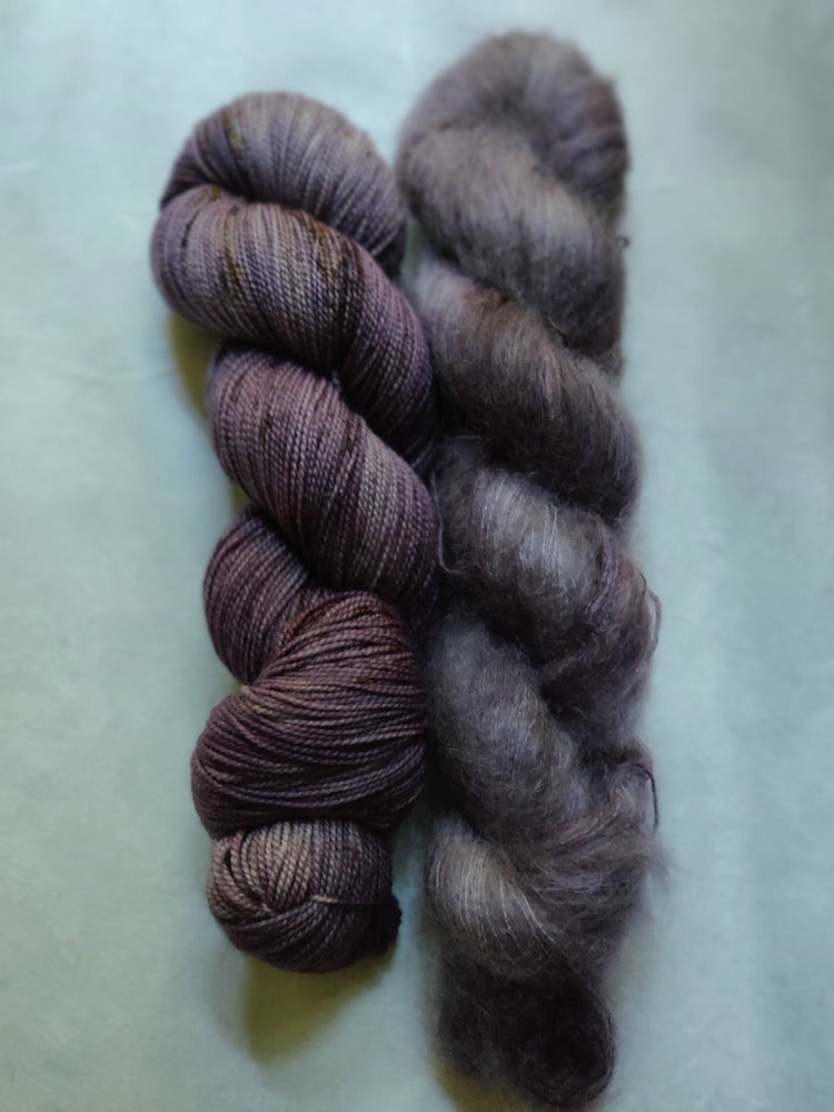 Mohair Hat Kit - Earl Grey, Hot