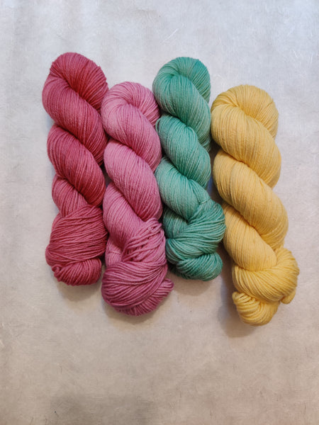 Loose Leaf Collection - Camellia Sock, Summertime