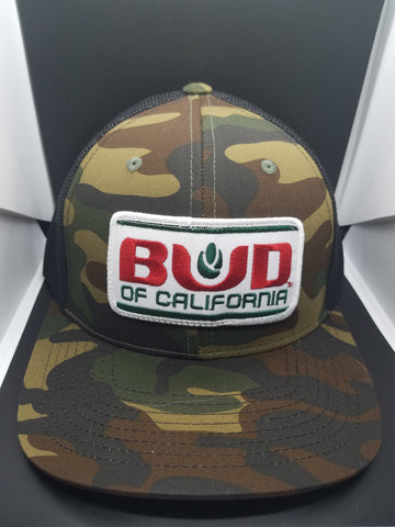 4 bud of Cali hats