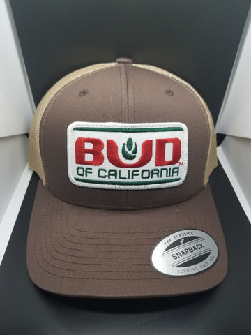 5Bud of California hats Mix colors