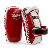 Load image into Gallery viewer, Free Style Kicking Pads Biking Red/White - YOKKAO