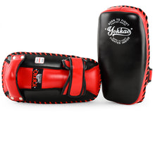 Load image into Gallery viewer, Free Style Kicking Pads Black/Red - YOKKAO