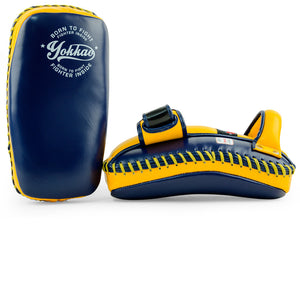 Free Style Kicking Pads Evening Blue/Gold Fusion - YOKKAO