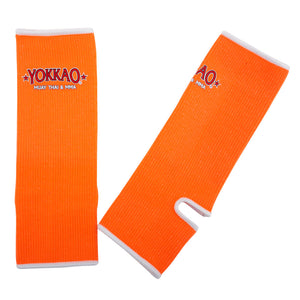Ankle Guards NEON Orange For Kids - YOKKAO