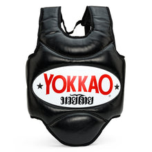Load image into Gallery viewer, Muay Thai Body Protector Black - YOKKAO ?id=14704522002504