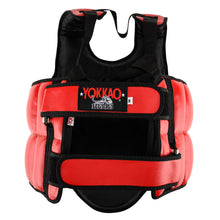 Load image into Gallery viewer, Muay Thai Body Protector Red - YOKKAO