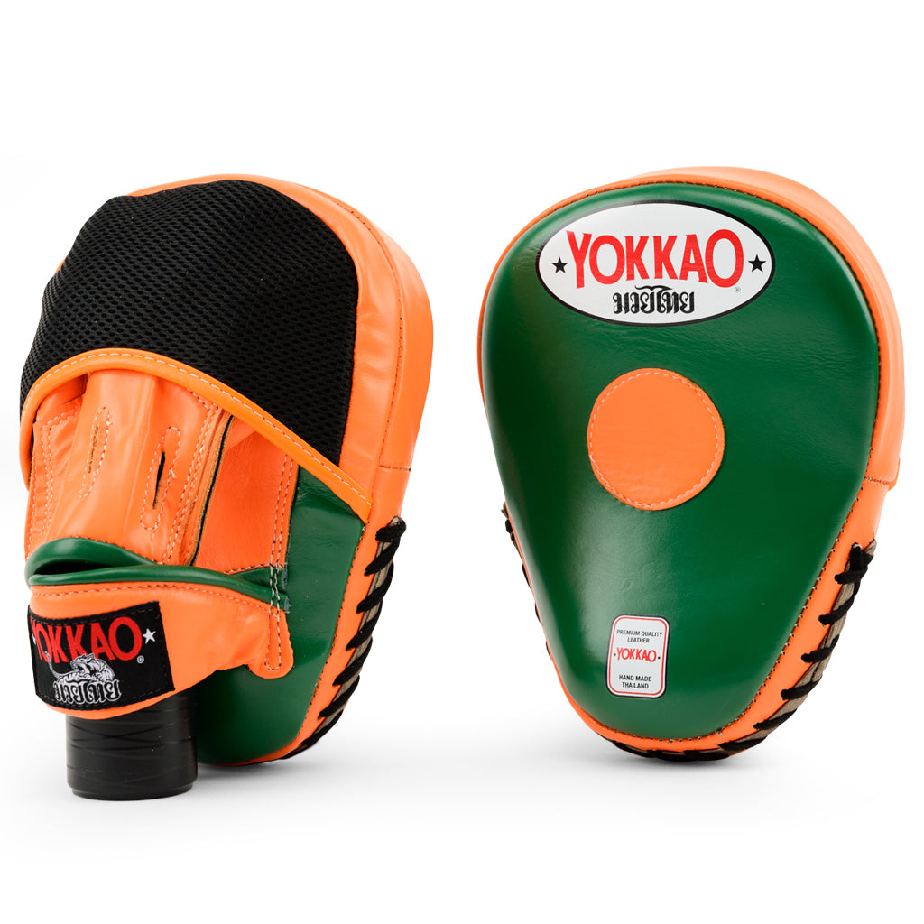 Focus Mitts Close-Finger Eden/Orange Tiger - YOKKAO