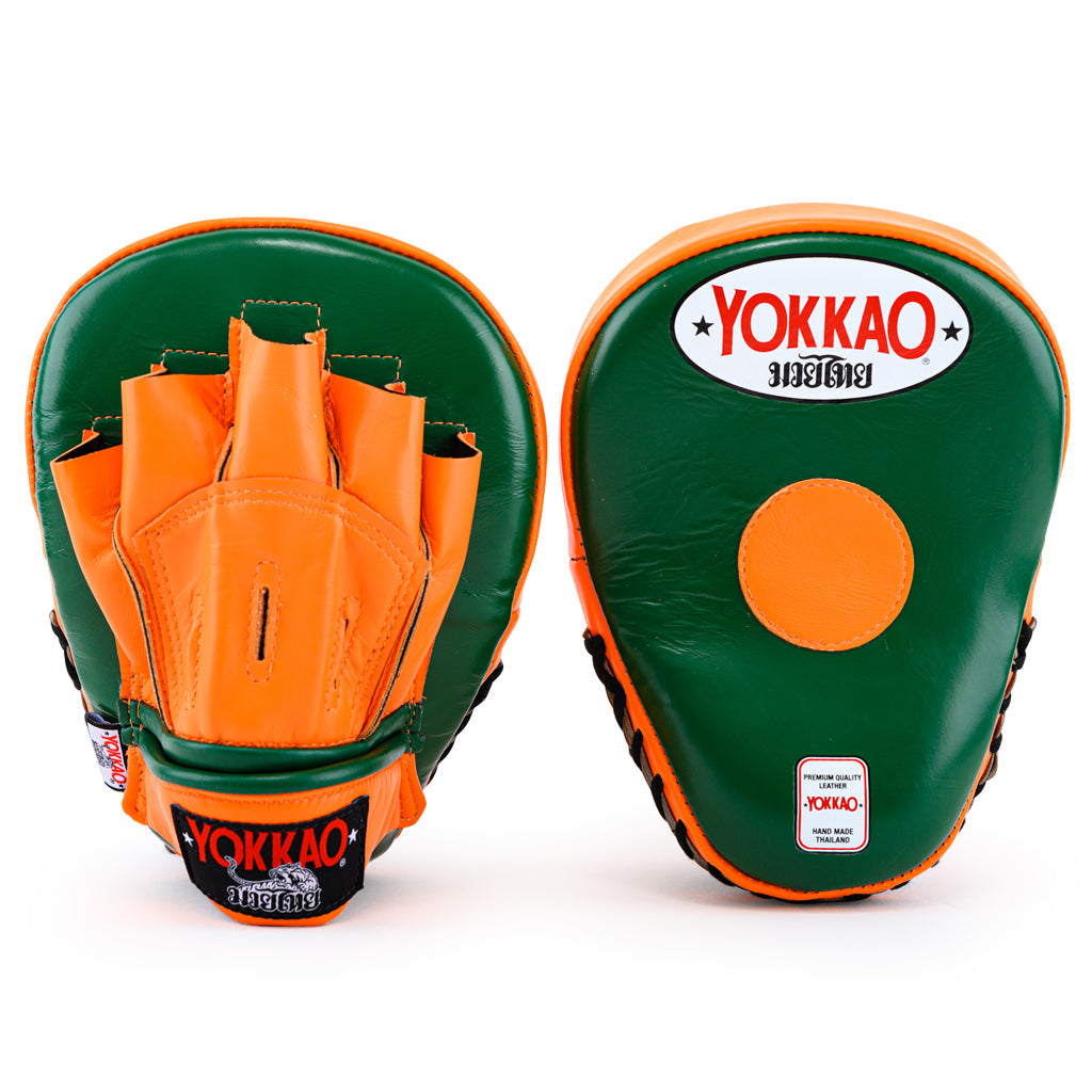 Focus Mitts Open-Finger Eden/Orange Tiger - YOKKAO