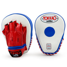 Load image into Gallery viewer, YOKKAO Thai Flag Curved Focus Mitts - YOKKAO
