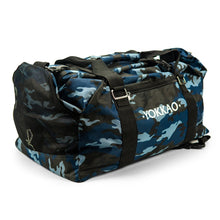 Load image into Gallery viewer, Convertible Blue Camo Gym Bag