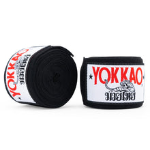Load image into Gallery viewer, YOKKAO Premium Hand Wraps Black - YOKKAO