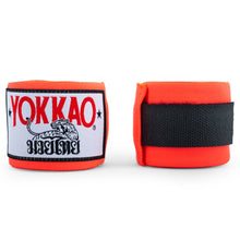 Load image into Gallery viewer, YOKKAO Muay Thai Hand Wraps Orange Neon - YOKKAO ?id=14638414233672